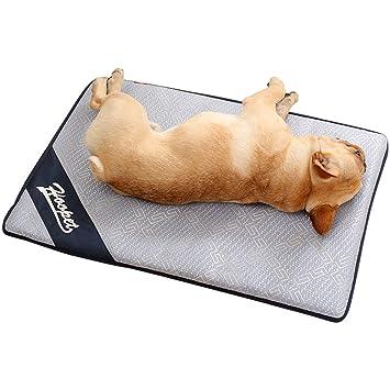 TFENG Cama del Perro, Estera Antideslizante Lavable Suave del Animal doméstico, cojín de colchón Respirable del Perrito Grande del Gato (Size L): Amazon.es: ...