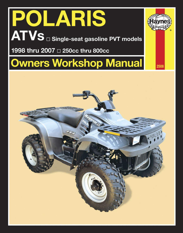 Haynes Manuals Manual Polaris Atv's 98 07 M2508 New