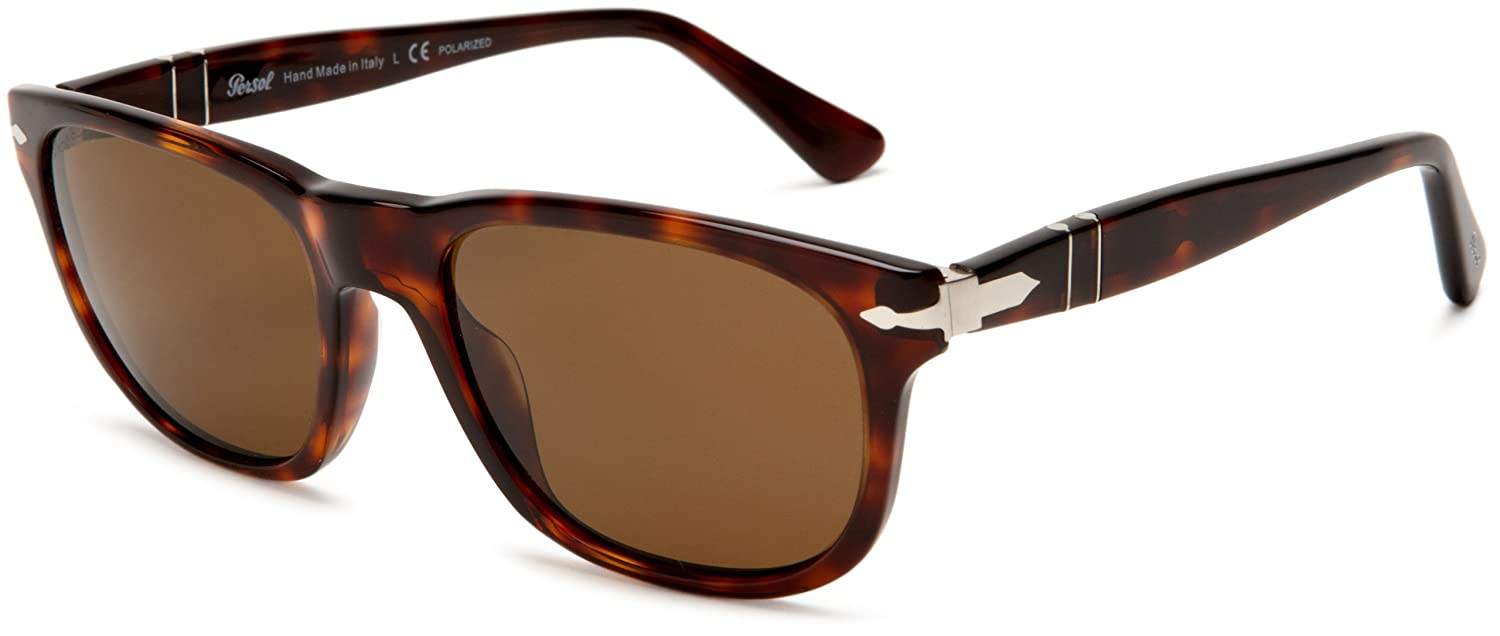 96a7cf8be595 Persol Women's 0Po2989S 24/57 Sunglasses, Brown (Havana/Brown), 57 ...