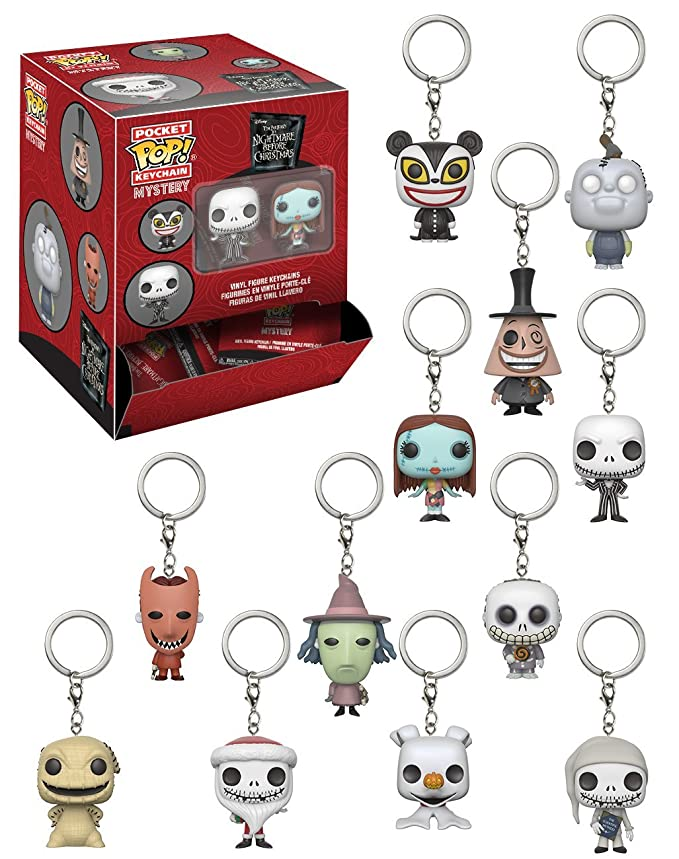 Amazon.com: Funko Pop! Llavero de persiana: Nightmare Before ...