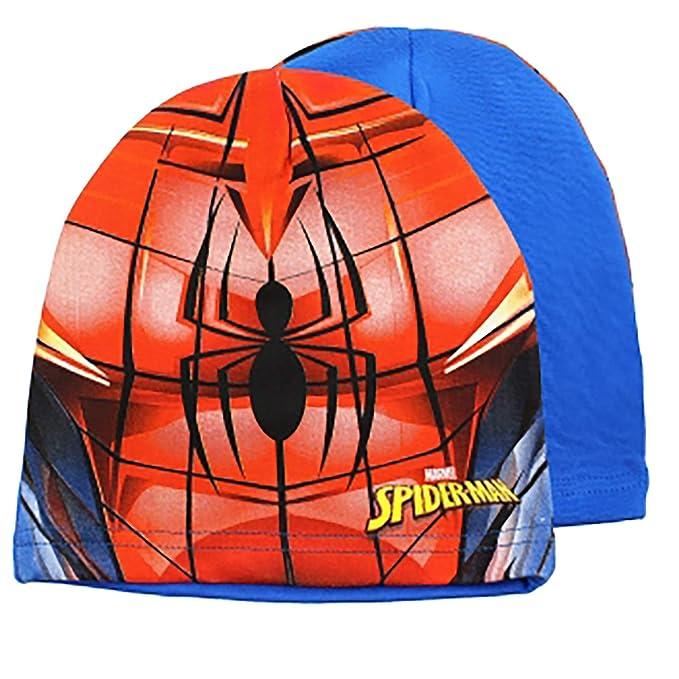 Cappello Spiderman Misura Unica (Azzurro)  Amazon.it  Abbigliamento 98f32b58bdf5