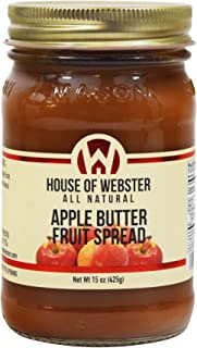 product image for House of Webster Low Sugar Apple Butter Fruit Spread 15 oz