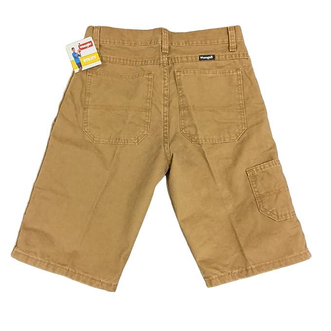 92e0728e1be51d Amazon.com: Wrangler Boys Original Straight Jean or Carpenter Utility Shorts  with Adjustable Waist: Clothing