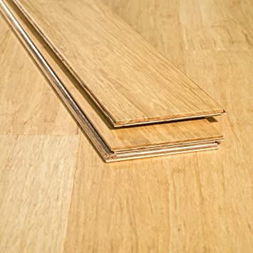 Ambient Bamboo Bamboo Flooring Sample Color Natural 6 Ft