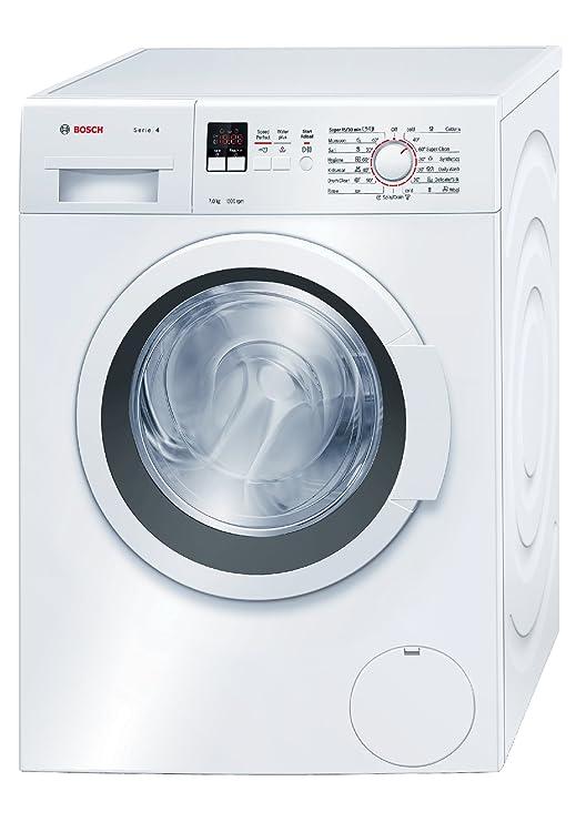 Bosch 7 kg Fully Automatic Front Loading Washing Machine  WAK20160IN, White  Washing Machines   Dryers