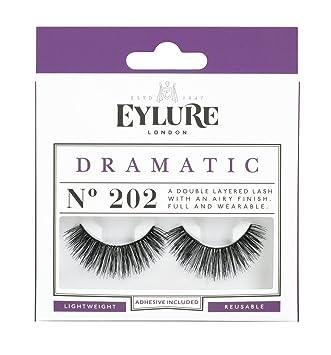 f49452ef90e Amazon.com : (Pack of 5 Pairs) Eylure Naturalites #202 False Eyelashes  Lashes : Fake Eyelashes And Adhesives : Beauty
