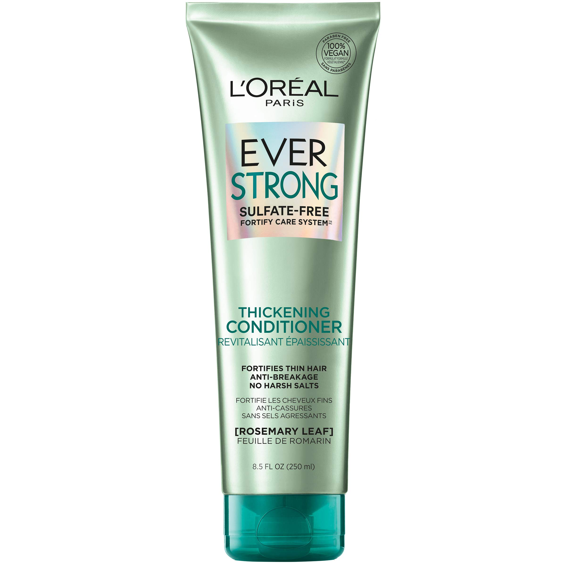 L'Oreal Paris EverStrong Thickening Conditioner, with Rosemary Leaf, 8.5 Ounces (Packaging May Vary)
