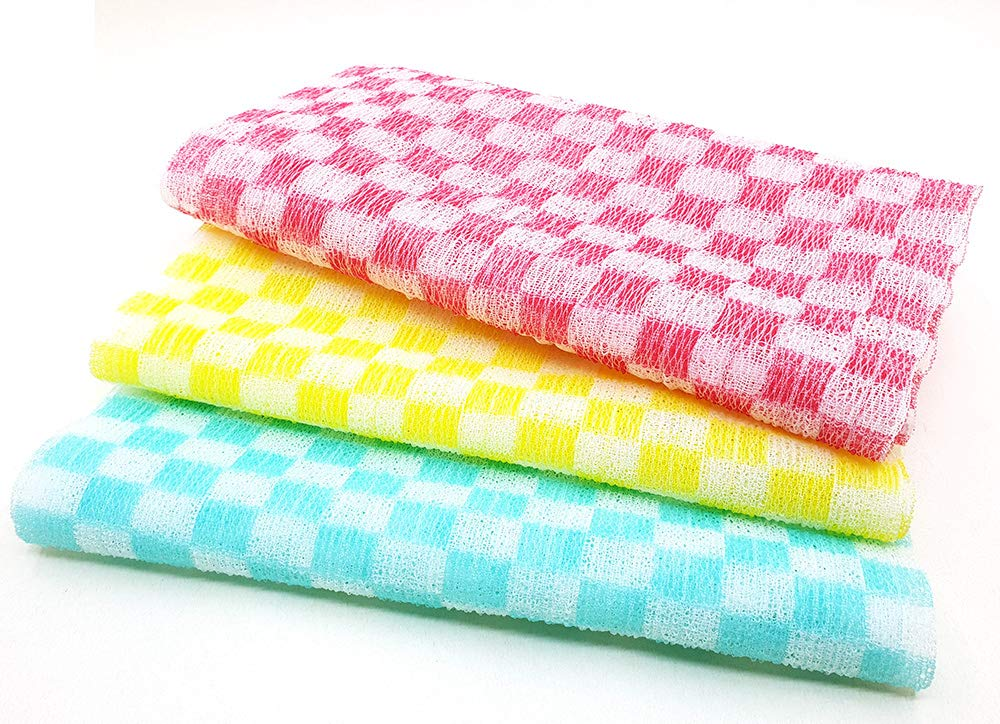 OliviaTree Nylon 100% Bath Wash Cloth (3pk)