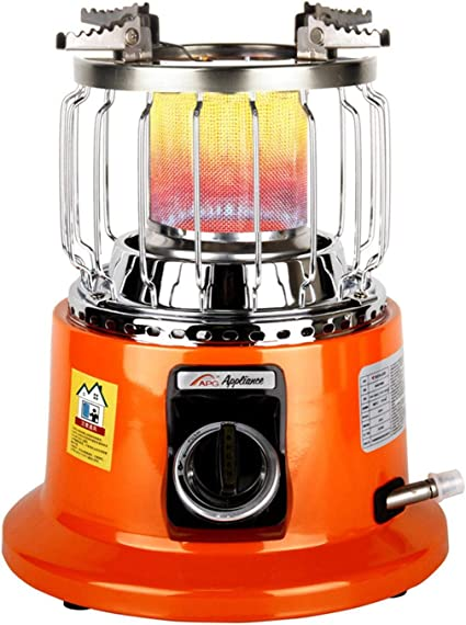 Sunnyushine - Estufa de gas portátil 2 en 1 para hornillo de ...