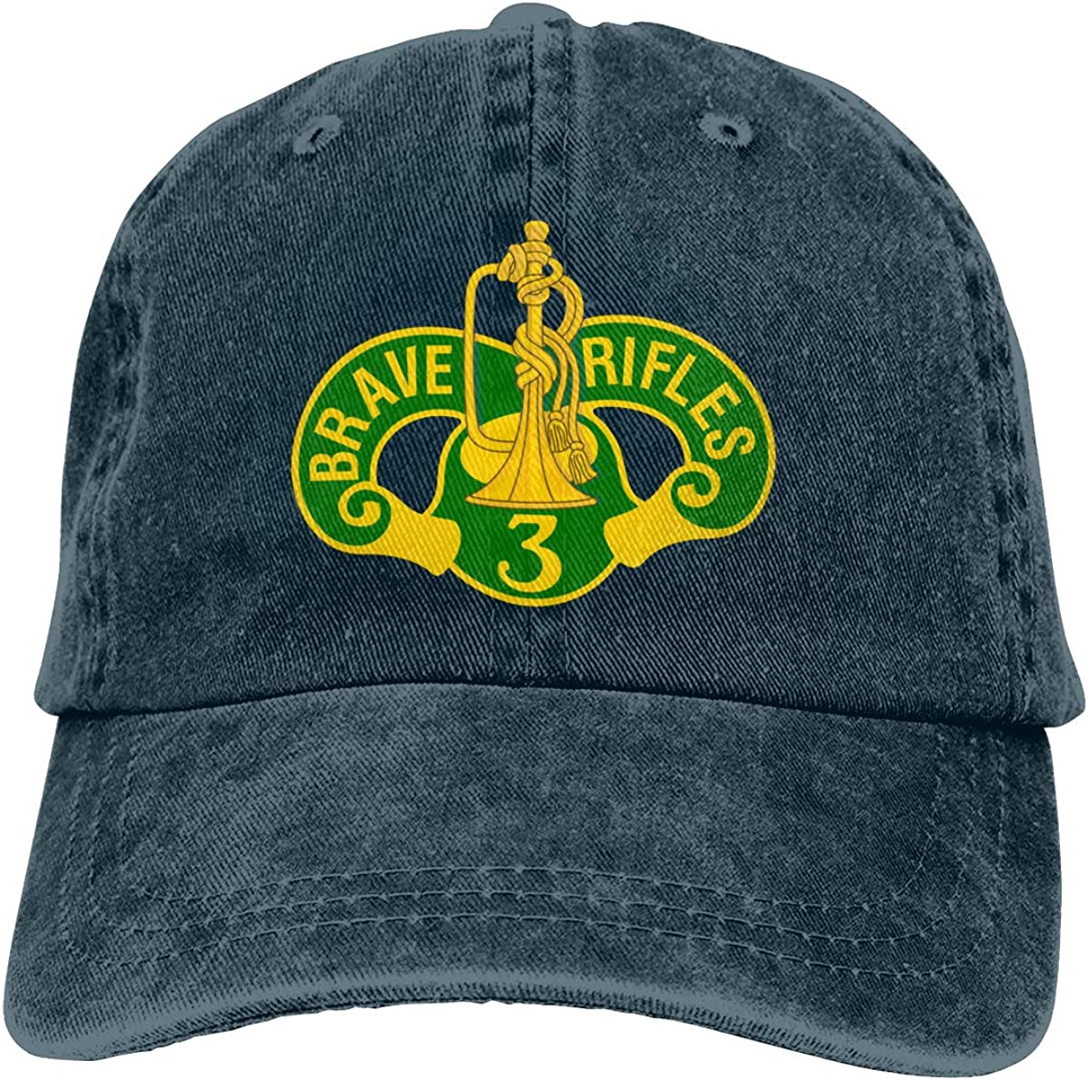 1st Cavalry Division Classic Adult Caps Printing Bend Along Baseball Hat Snapback Unisex Cap Adjustable