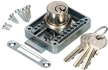 Sicherheits-Zylinderschloss Universal mit 3 Schlüssel Neue Ware  70 mm