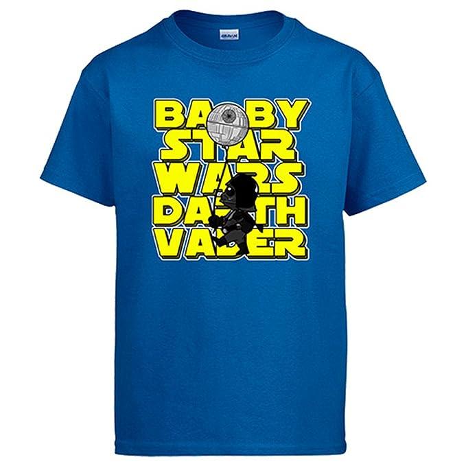 Camiseta Star Wars Baby Star Wars Darth Vader: Amazon.es: Ropa y accesorios