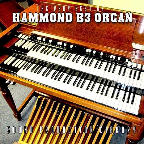 Hammond B3 Organ - Large Original Samples Studio Library on DVD or download