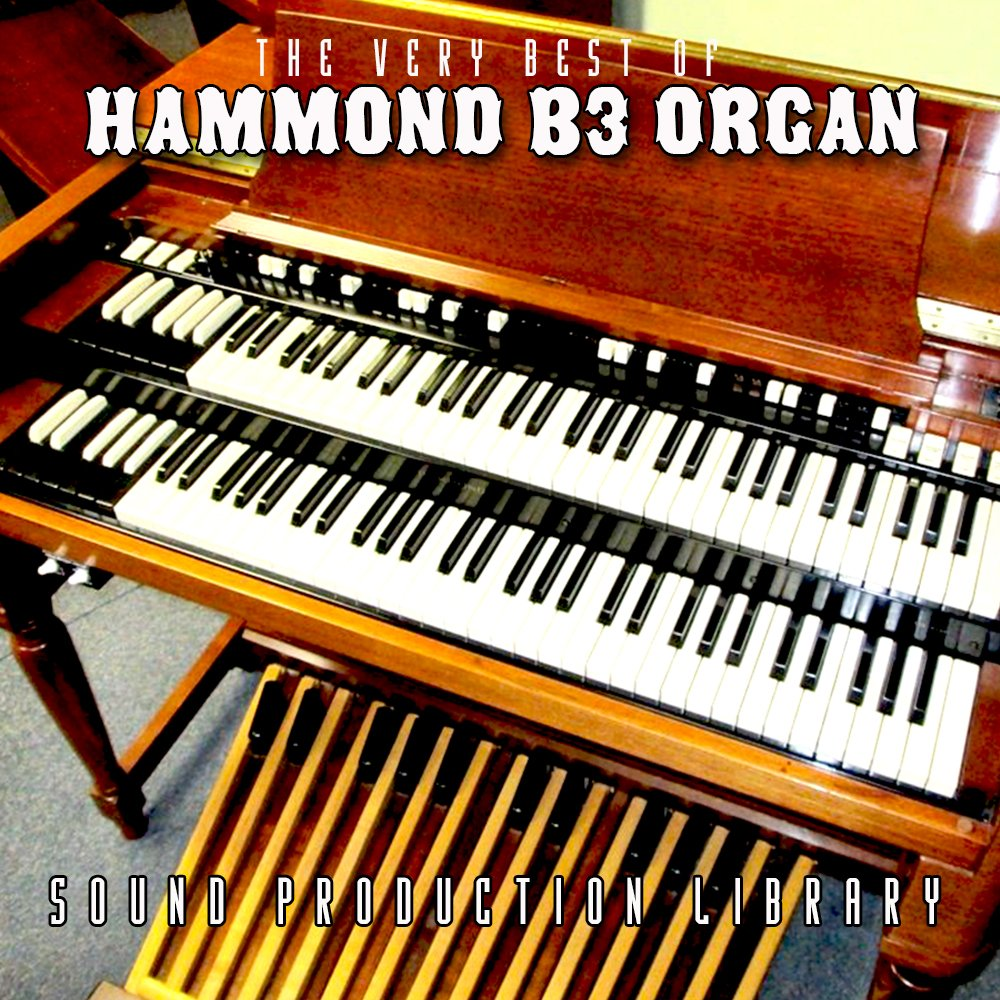 Hammond B3 Organ - The KING of Organs - Large unique original 24bit WAVE/Kontakt Multi-Layer Samples/Loops Library. FREE USA Continental Shipping on DVD or download; by SoundLoad