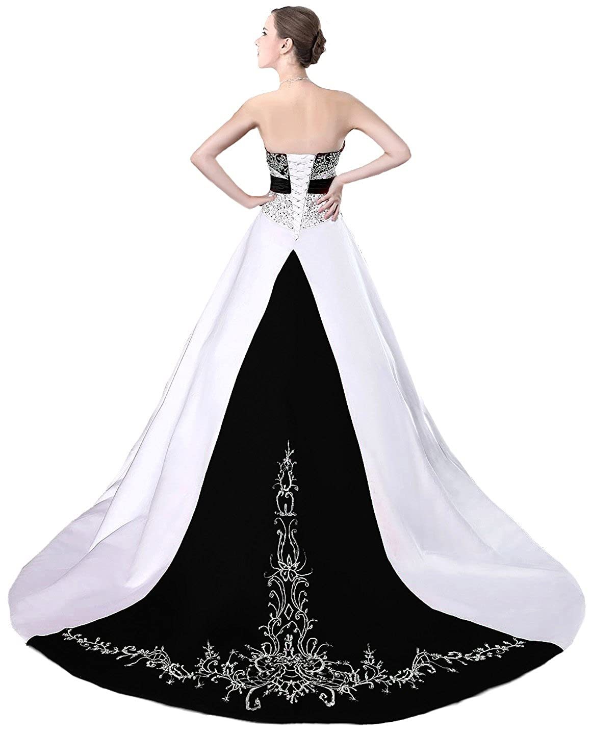Faironly D229 Women\'s Wedding Dress Bridal Gown at Amazon Women\'s ...