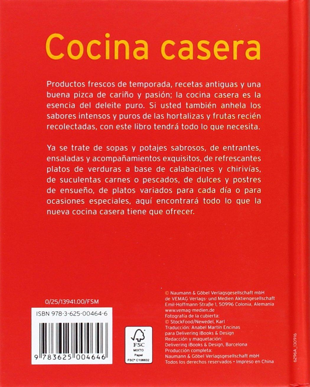 Cocina Casera. Mini Libros De Cocina: Amazon.es: Vv.Aa.: Libros