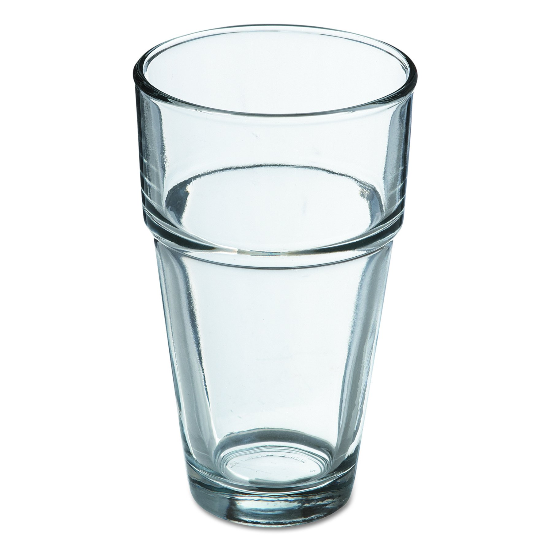 Stackable 73017 3-1/2'' Diameter x 6'' Height, 16 oz Cooler Glass (Case of 36)