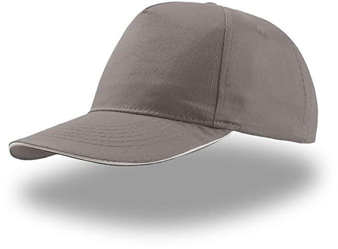 e9acfd7a631f89 Atlantis Start 5 Sandwich Cap 5 Panel - Grey - OS at Amazon Men's ...