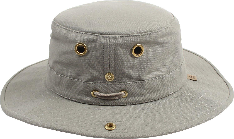 Tilley Endurables T3 Traditional Canvas Hat,Khaki,7 7/8