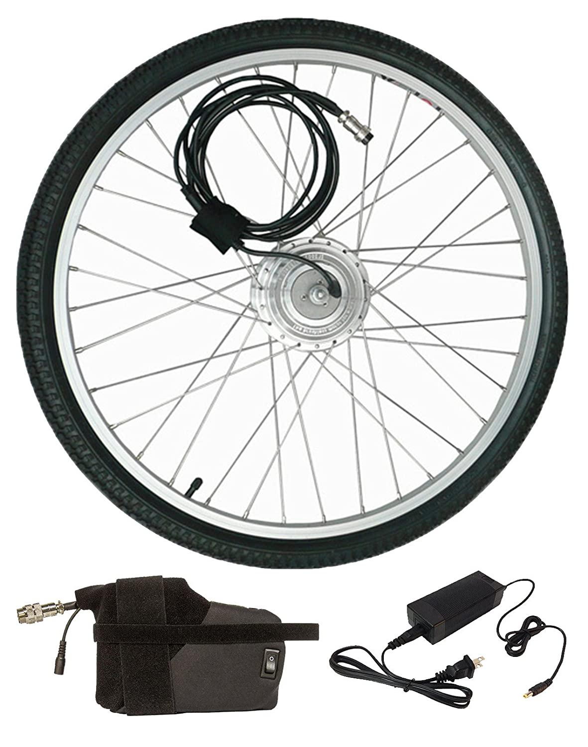 Clean Republic Electric Bike Kit - 250 Watt 24 Volt Hill Topper, Lithium Battery Included Review