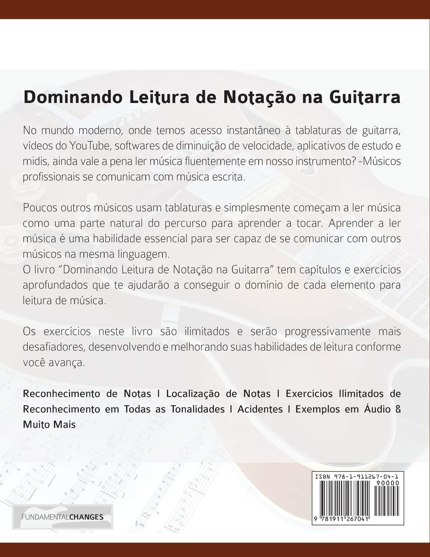Dominando Leitura de Notação na Guitarra: Edição em Português ...