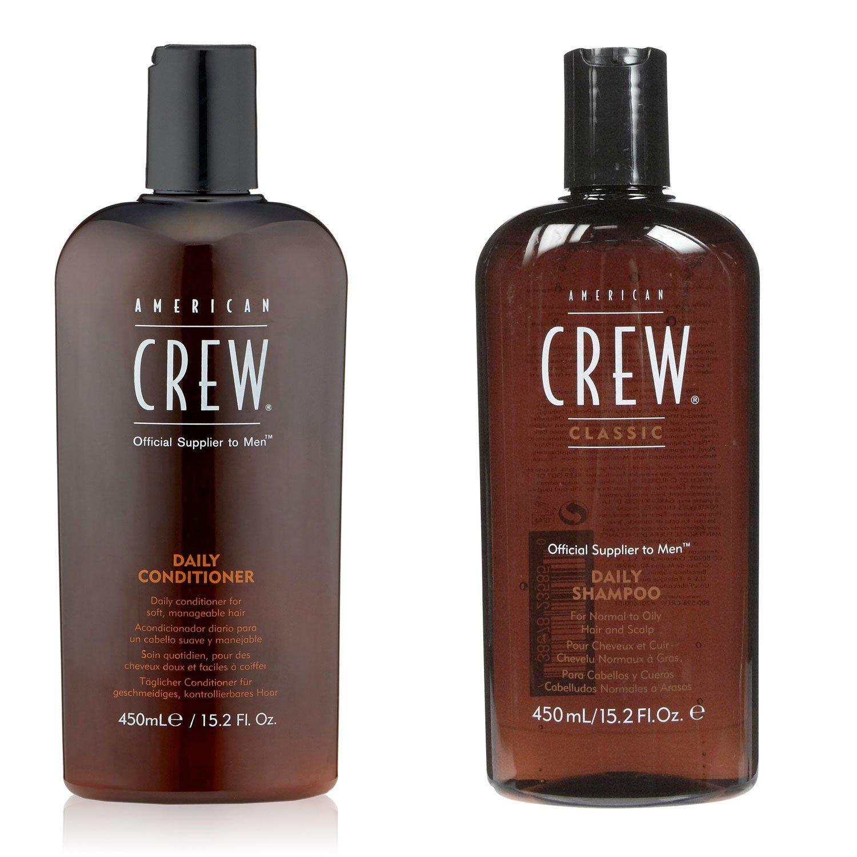 Amazon.com   AMERICAN CREW Daily Shampoo and Conditioner, 15.2 fl. oz.    Beauty ef0a92a2a2