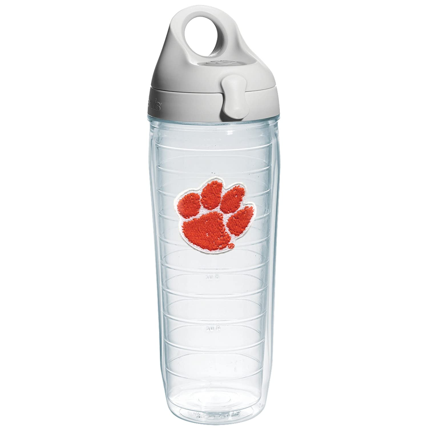 Tervis Penn State University Emblem Individual Water Bottle with Gray Lid Clear 24 oz 1073650