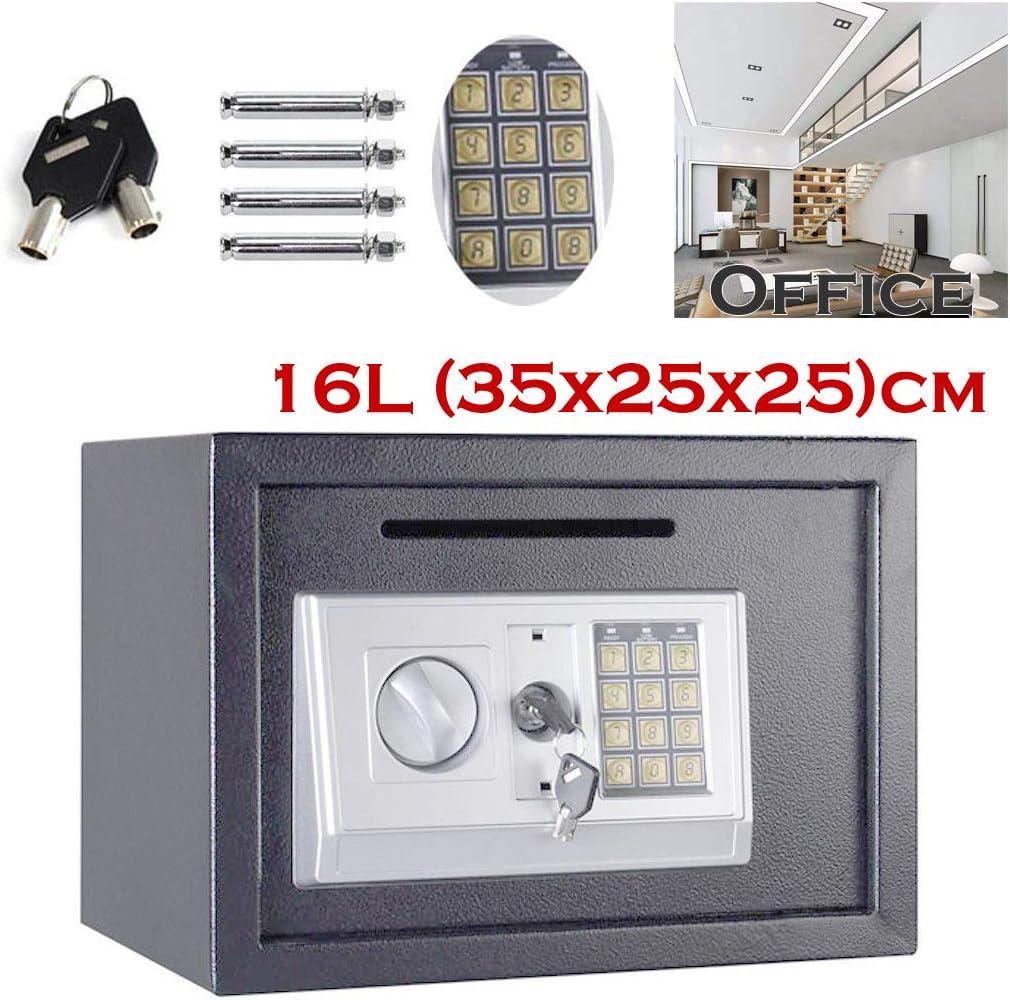 Caja Fuerte de Seguridad con código Digital Grande (35 x 25 x 25 ...