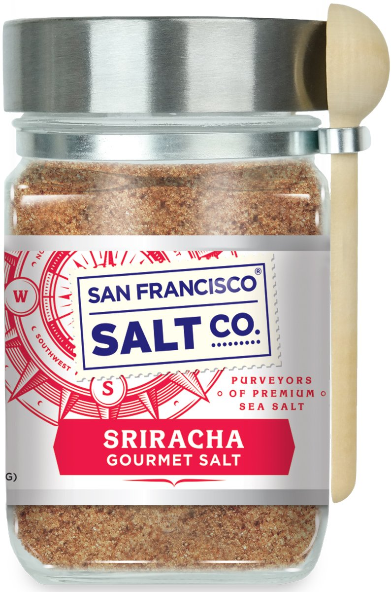 8 Oz. Chef's Jar - Sriracha Salt - Fire up your taste buds