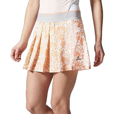 b904a146ace adidas Women's Stella Mccartney Barricade Australia Ladies Skort X-Small  White/Orange