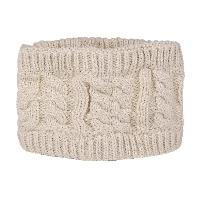 Flammi Women's Cable Knit Headband Head Wrap Ear Warmer F Flammi