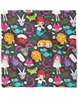 Cute Astrology Star Signs Satin Style Scarf