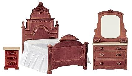 Amazon.com: Casa de muñecas miniatura Victoriano Juego de ...