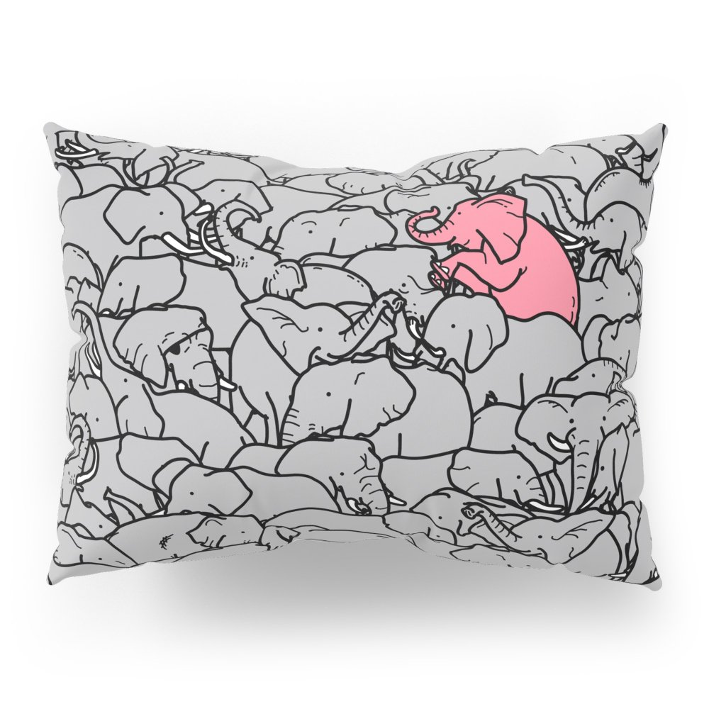 Society6 Word 2 The Herd V1 Pillow Sham Standard (20'' x 26'') Set of 2