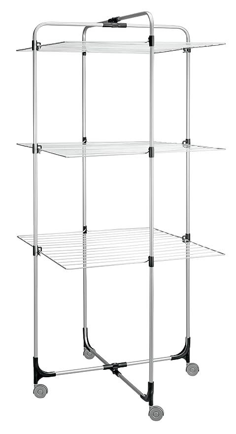 Metaltex Aliseo - Tendedero 3 alturas, 30 metros