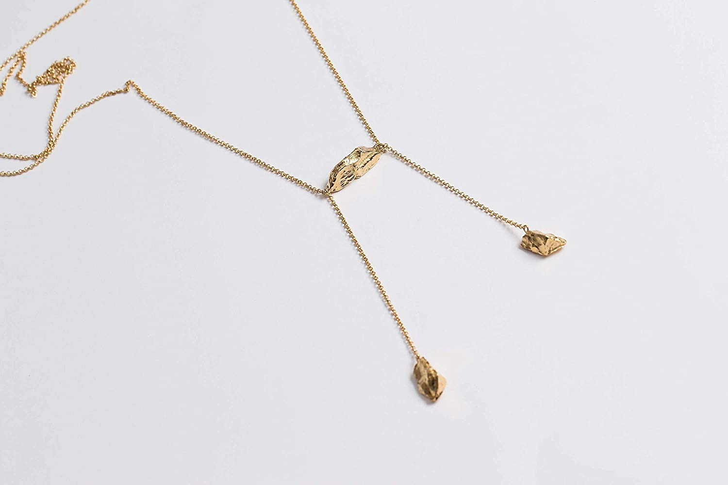 Amazon Com Shizing Gold Plated Necklace For Women Edgy Gold