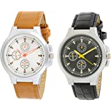 Krupa Enterprise New Stylish Leather Analogue - For Boys Watch - For Boys