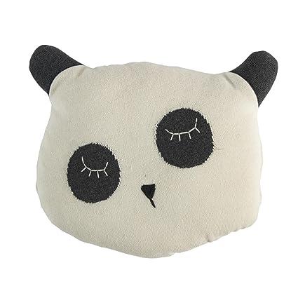 Sebra Cojín oso panda (gehäkelt): Amazon.es: Juguetes y juegos
