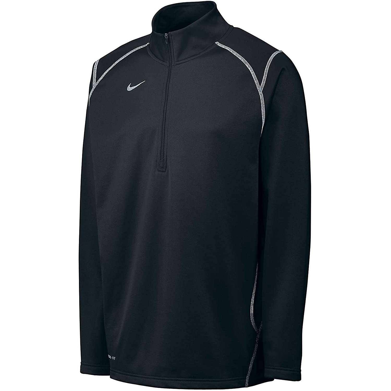 Amazon.com  Nike Men s Thermafit Quarter Zip Pullover Sweatshirt ... d02cd7a218bb