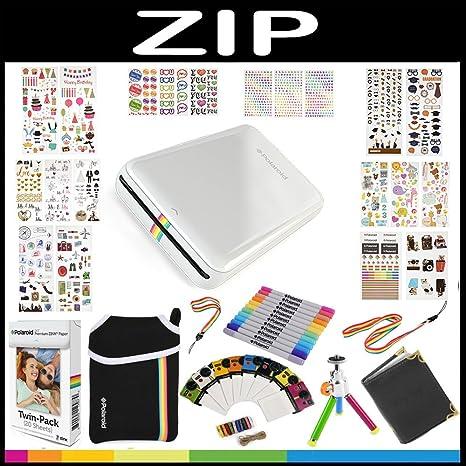 Polaroid: Pack de Regalo Zip de Impresora portátil + Papel Zink ...