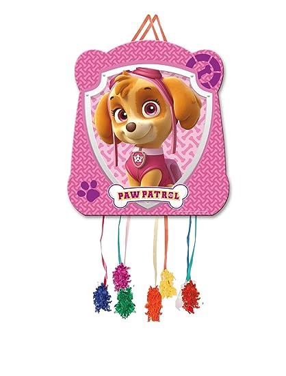 ALMACENESADAN 0827, Piñata Basic Patrulla Canina Skye,, Fiestas y cumpleaños. 28x33 cms.