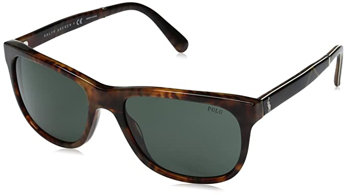 Ralph Lauren POLO 0PH4116 Gafas de sol, Shiny Jerry Tortoise ...