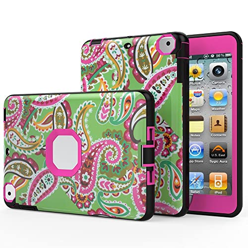 iPad mini 3 Case,iPad mini 2 Case,iPad mini Case - MOOST (TM) Shockproof Paisley Flower Patterned Case For iPad...