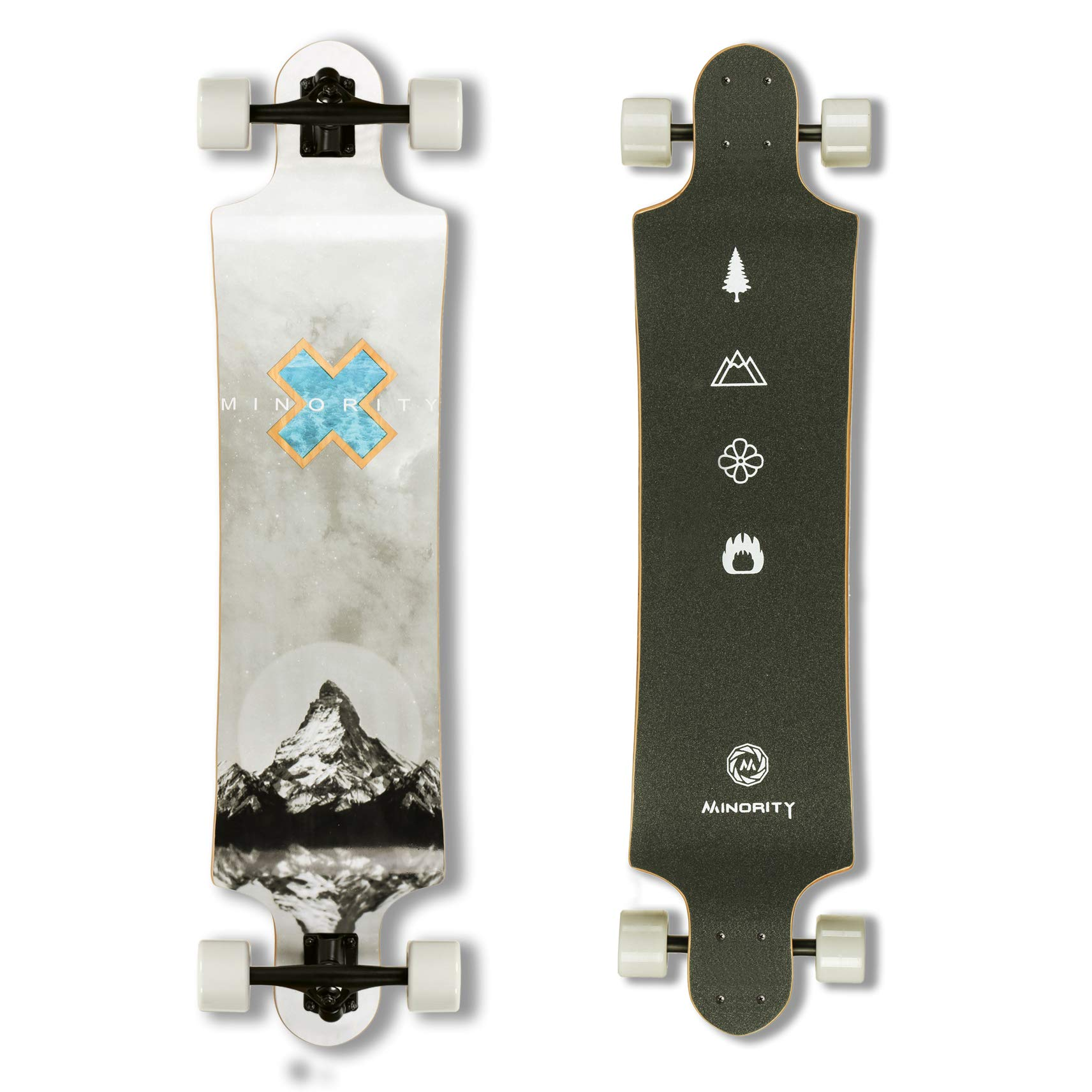 MINORITY Downhill Maple Longboard 40-inch Drop Deck