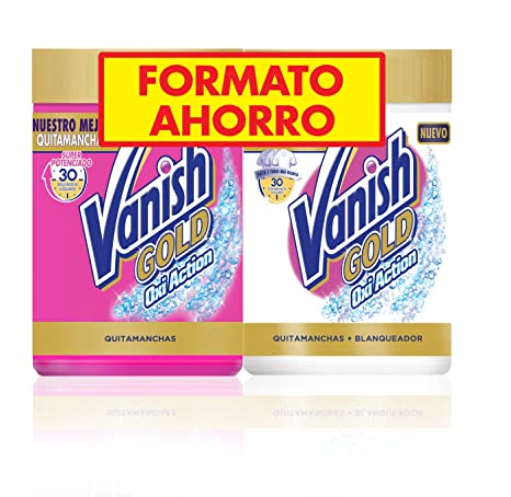 Vanish Gold Oxi Action White Quitamanchas Polvo - Pack de 2 ...