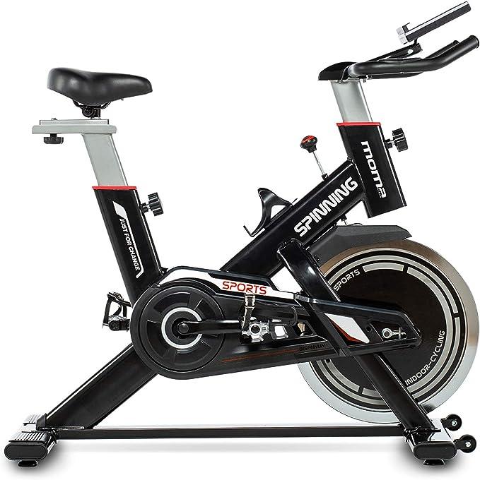 Moma Bikes - Bicicleta Spinning con Volante de Inercia de 24 kg ...