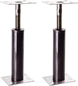 "Akron Adjustable Floor Jack (Model C-4), Akron Jacks Floor Jacks, Telescoping Jack For Temporary Support, Size Range 1'-1' 3"" (2 Pack)"