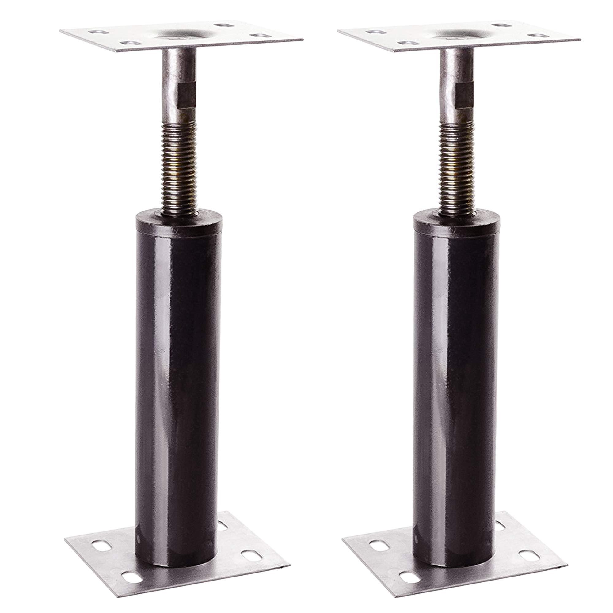 Adjustable Floor Jack Post 15 Gauge - Size Range