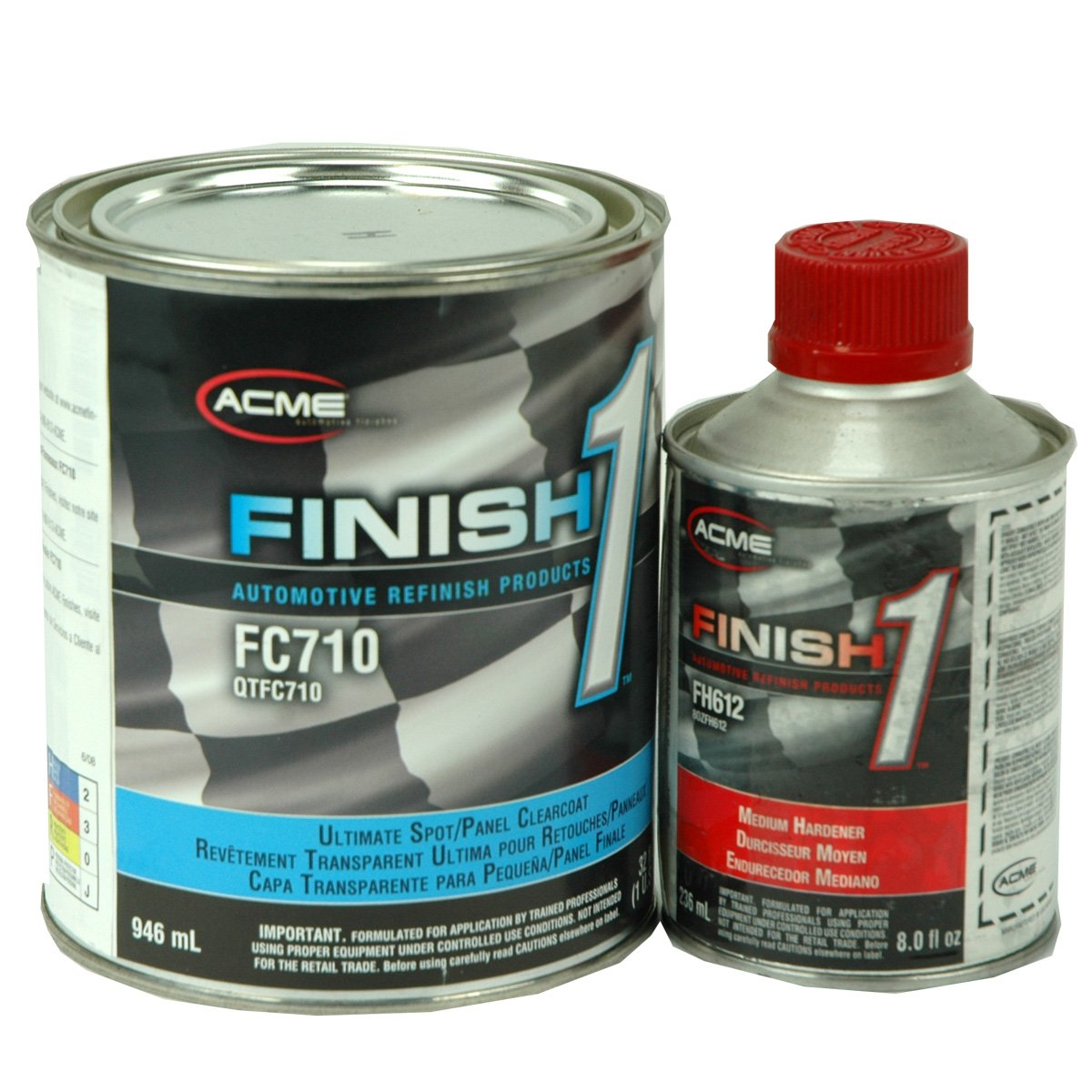 Amazon com finish 1 2k urethane automotive clear coat 32 oz quart clear coat 8 oz activator automotive