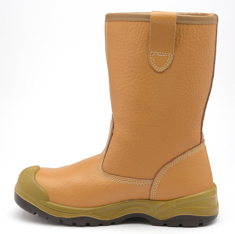 e12f44730d3 Amazon.com: Zephyr ZX60 S3 CI SRC Premium Warm Lined Tan Steel Toe ...